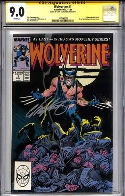 WOLVERINE #1 CGC 9.0 SS CHRIS CLAREMONT (1st Wolverine as Patch)