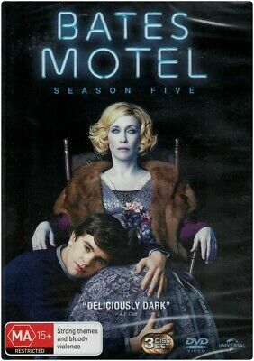 """BATES MOTEL: Season 5"" DVD, 3 Disc Set - Region [4] & [2] BRAND NEW"