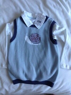 The Little White Company - 18/24 months tank top & shirt