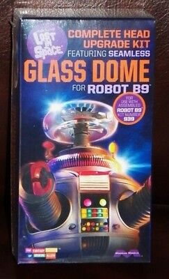Moebius 948 TV Lost In Space ROBOT B9 Glass Dome + Neck Upgrade Set kit 1/6