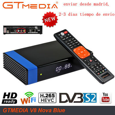 Upgrade V8 Super H.265 Built in Wifi GTMedia V8 Nova DVB-S2 Satellite Receiver