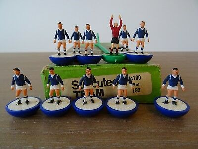 ++ Subbuteo Heavyweight Team Leicester City - Ref: 192 - In Referenced Box ++