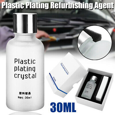 30ml Car Plastic Plating Refurbishing Agent Coating Polishing Car Protection Kit