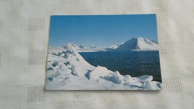 SVALBARD NORWAY POSTCARD -POSTED 17th MARCH 1982