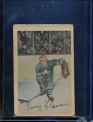 **FERN FLAMAN**52-53 Parkhurst#47 RC(TORONTO MAPLE-LEAFS)Look the Picture VG-EX!