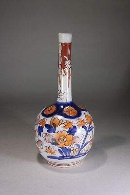 Antique Japanese Porcelain Imari Bottle Vase 19th Century