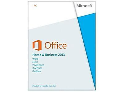 New Sealed Microsoft Office Home and Business 2013 (1 Computer/s) Full Version