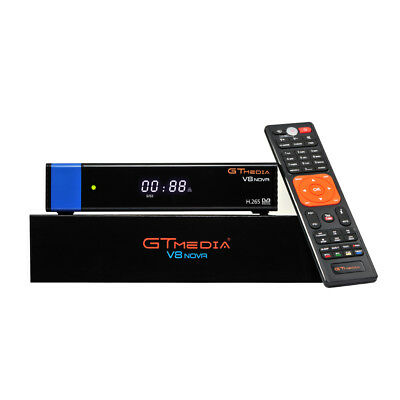 GTMedia V8 Nova DVB-S2 Satellite Receiver H.265 Built in Wifi Upgrade V8 Super