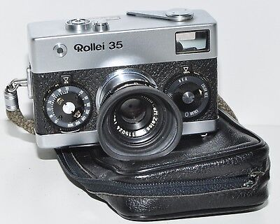 Rollei 35 ( Zeiss ) Tessar 40mm f/3,5 , sehr gut, made in Germany!