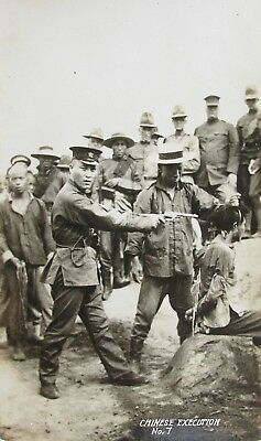 CHINA - CHINESE EXECUTION EARLY RP PC No7