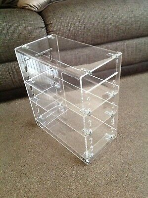 Clear Plastic Model Display Case