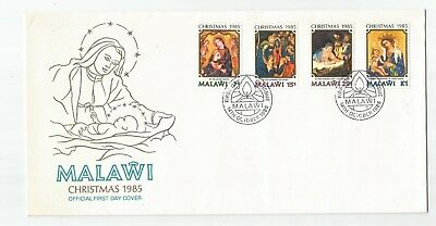 Malawi 1985 Christmas First Day Cover
