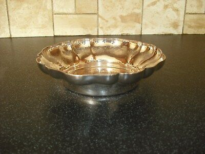 Barker and Ellis Decorative Silver Plated Bowl
