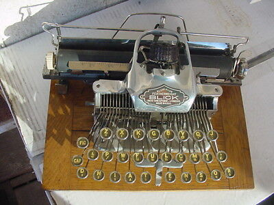 DELISTED DUE TO POSSIBLE THEFT. WILL RELIST IF FOUND Blickensderfer typewriter
