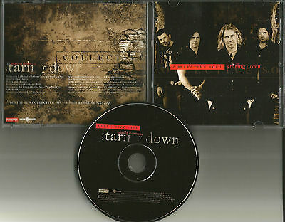 COLLECTIVE SOUL Staring Down 2009 USA PROMO Radio DJ CD single MINT