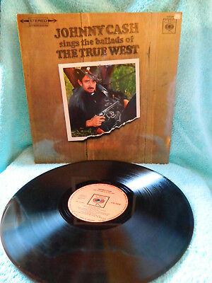 Lp, Vinyl Johnny Cash sings the ballads of The True West