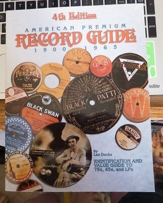 Soft Cover 4Th Edition American Premium Record Guide 1900-1965 Mint-