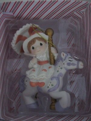 "Hallmark 2018 ""MARY POPPINS"" Disney Precious Moments Porcelain Ornament NEW"