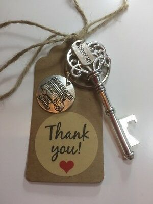 Key Bottle Opener, School Bus Driver Gift,End Of Year Gift,Bus Driver Gift