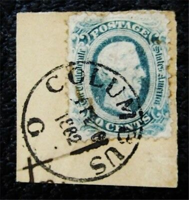 nystamps US CSA Confederate Stamp # 12f Used $300 Perf 121/2