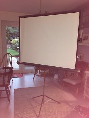 PROJECTOR SCREEN found in loft any good to anyone?????collection only see notes.