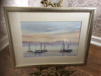 Original Water Colour Signed Michael Quigley