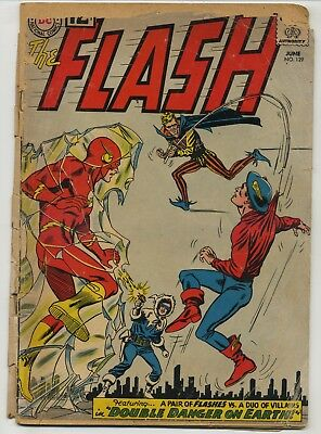 Flash 129 Second Silver Age Golden Age Flash!