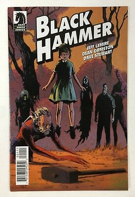 Black Hammer #1 SDCC Preview Ash Can NM Lemire 1st Appearance Dark Horse Ashcan