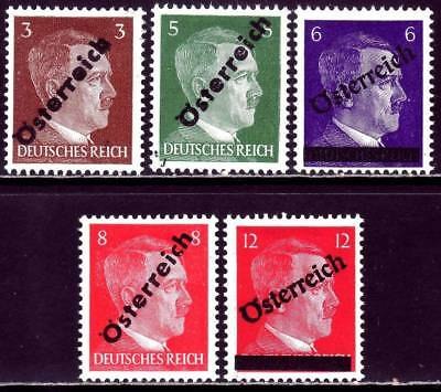 AUSTRIA POST WWII LOCALS valuable mint Hitler overprint stamp lot! #4