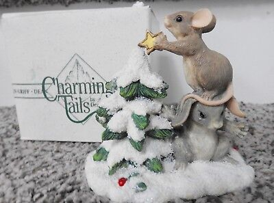 "Charming Tails ""Teamwork Helps!"" Item 87571"
