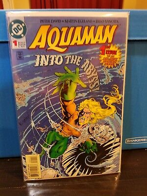 Aquaman #1 into the abyss 1st appearance of Charybdis