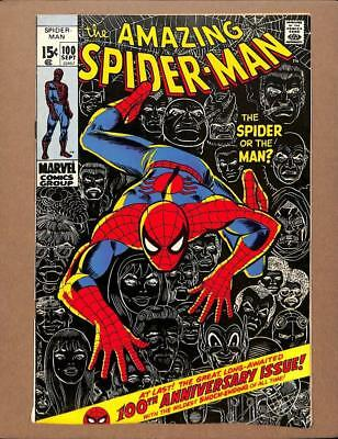 Amazing Spider-Man #100 MARVEL 1971 - Green Goblin cameo - Anniversary issue!
