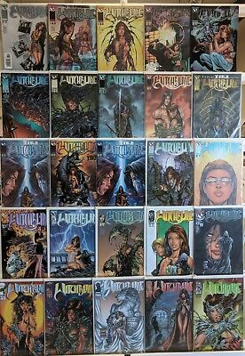 Witchblade Comics Huge Lot 25 Comic Book Collection Set Run Books Box 1