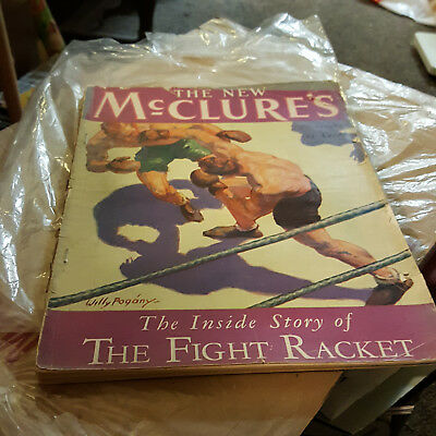 mcclure's  the fight racket magazine nov. 1928