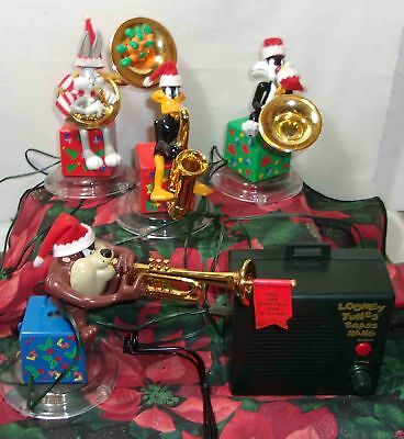 Mr. Christmas Bugs Bunny Brass Band Animated Musical Looney Tunes Ornaments