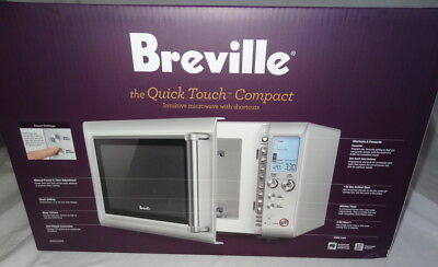 BNIB Breville BMO625 The Quick Touch Microwave Oven 900W 25L