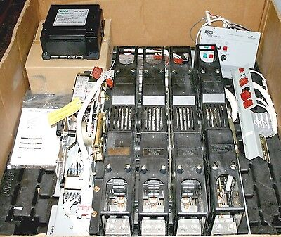 Automatic Transfer Switch 800 Amp 480 V H-Design Open ASCO 7000 Series ATS New