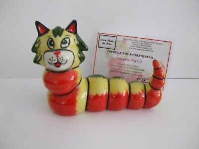 Lorna Bailey Cat -  CATERPILLAR - Lt.Ed. 7/75 - Exc. Cond. - FREE P&P