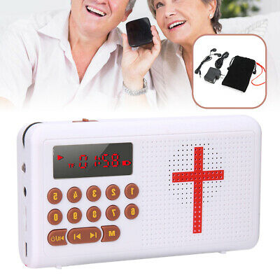 Electronic Bible Rechargeable Audio Speaker James Version English Audio Player
