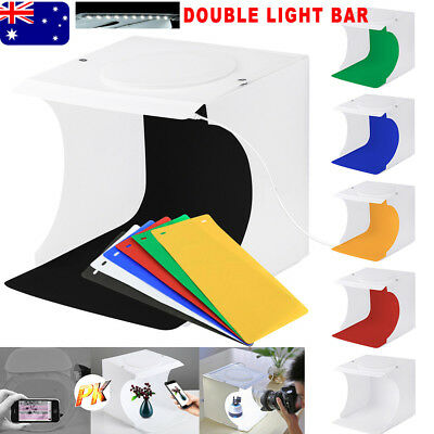 Light Room Photo Studio Photography USB Backdrop Cube Box LED Lighting Tent