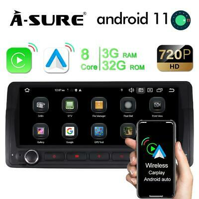 Autoradio für 3er BMW E46 318 320 GPS NAVI WiFi DAB+ DVD Player BT