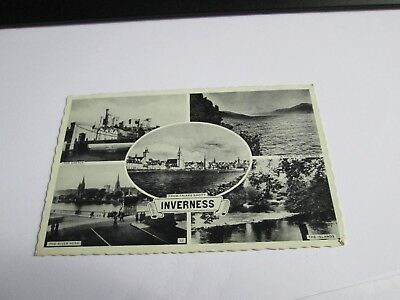 Postcard of Inverness (Multiview) posted 1959