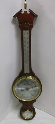60er Wetterstation made in Germany Thermometer Barometer und Hygrometer 60s
