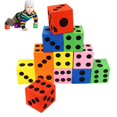 3.5*3.5 cm Foam Dot Dice by Learning Resources - Soft Maths Dice for Children CB
