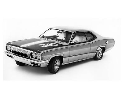 1971 Plymouth Duster 340 Factory Photo uc2181-QRFO8B
