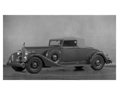 1934 Packard 12 Coupe Roadster Factory Photo uc2232-SCJYJ8
