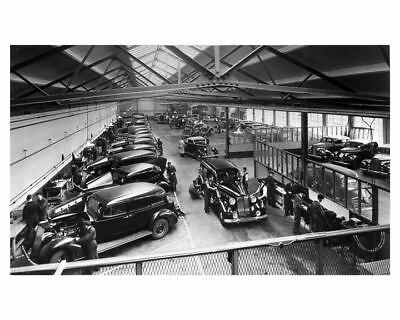 1937 Packard Leonard Williams and Co.Workshop Factory Photo  uc2270-3F3QEY