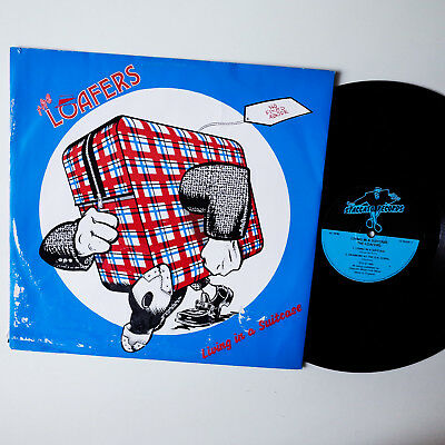 "The Loafers ‎– Living In A Suitcase  UK 1989   12"" EP   Vinyl  vg+"
