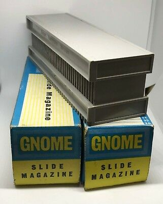 2 GNOME 35mm SLIDE MAGAZINES