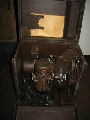 BELL & HOWELL FILMO-MASTER 8MM MOTION PICTURE PROJECTOR Original Set / CASE